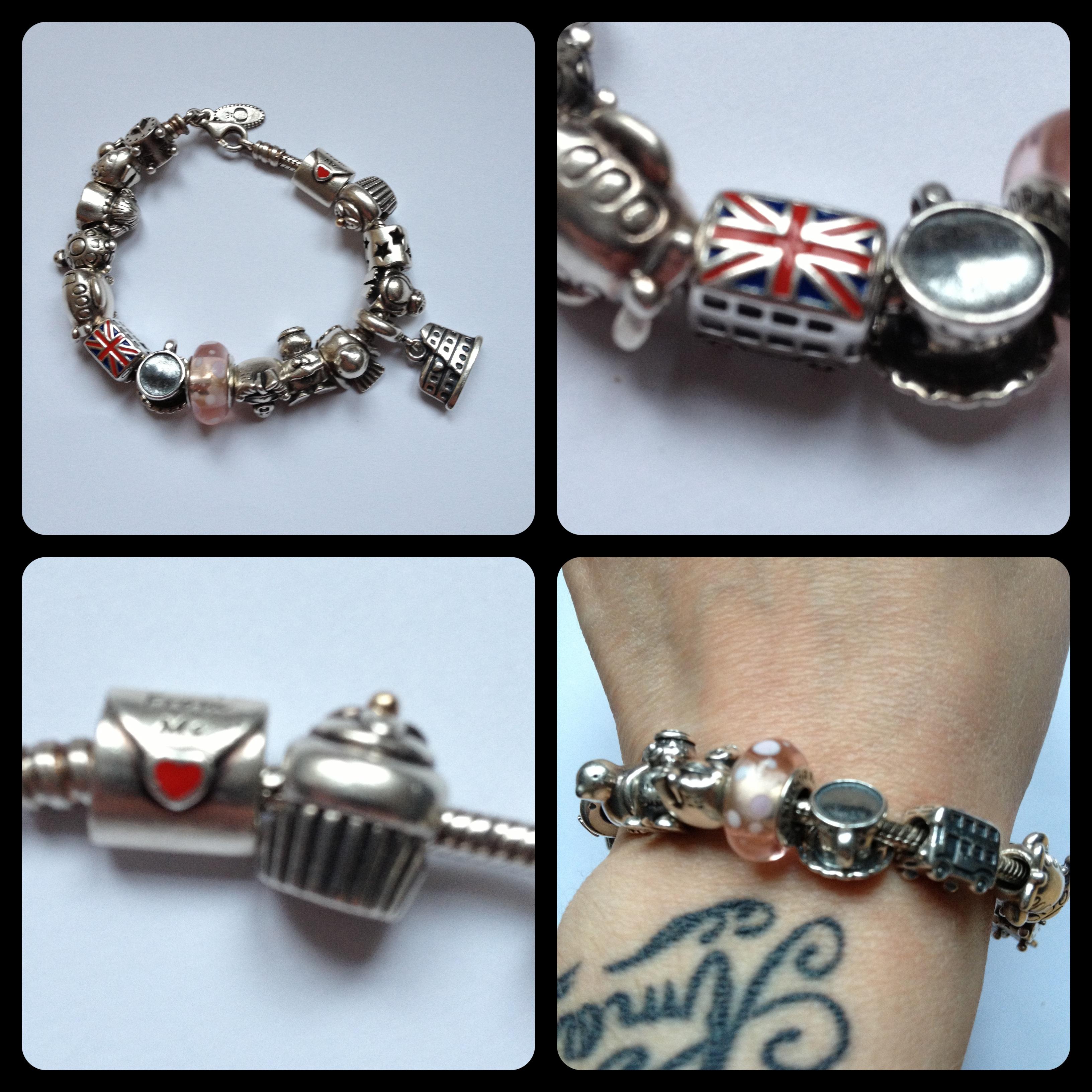 Pandora bracelet homme transfert discount