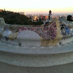 Mosaïques Parc Güelle
