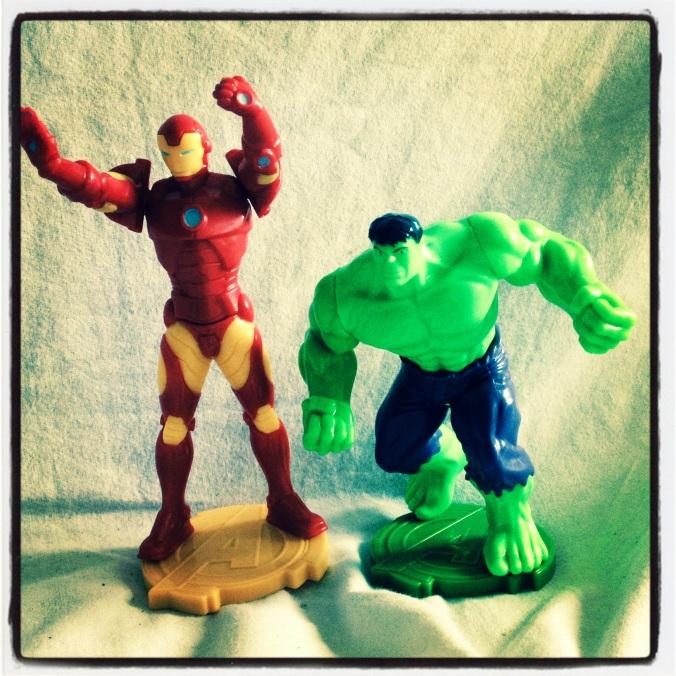 Avengers dans Kinder