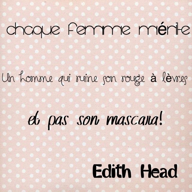Citation Edith Head