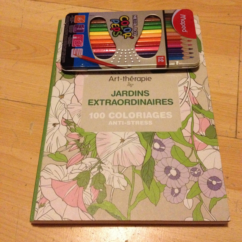 livre coloriages anti stress - Livre De Coloriage Anti Stress