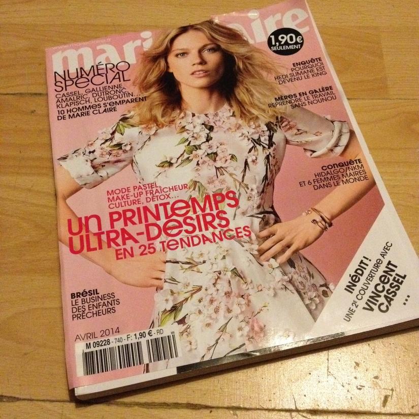 magazine Marie Claire