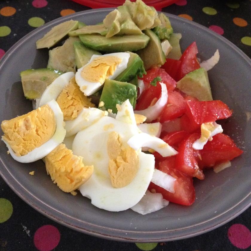salade composée slow diet