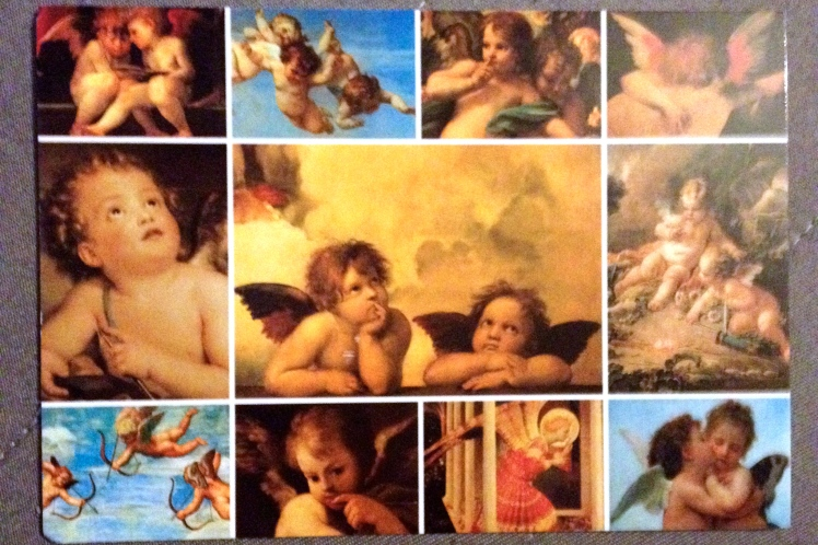 Carte postale anges