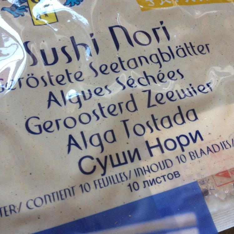 Feuilles d algues séchées Eat your box