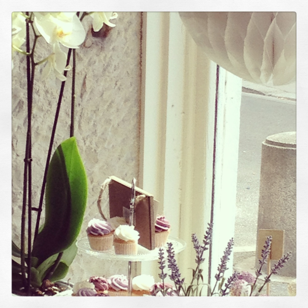 orchidées et cupcakes