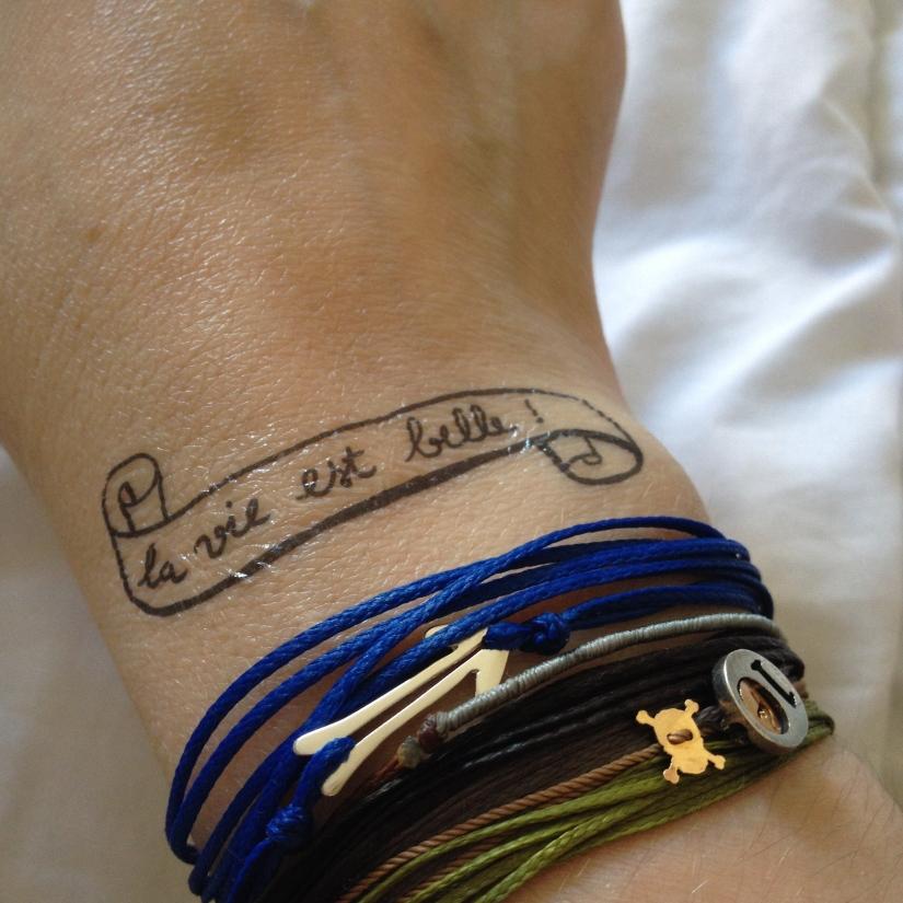 tatouage Bernard Forever phénomène de Maud