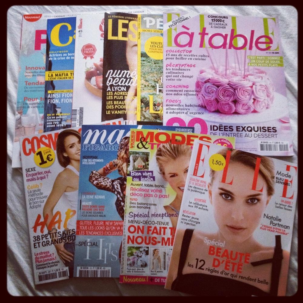 magazines mois de mai 2014