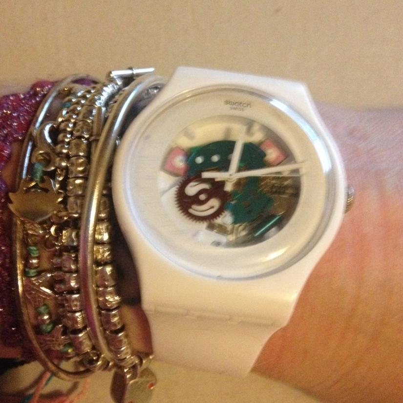 bijoux et montre