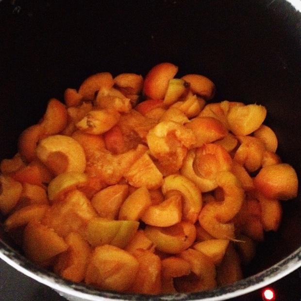 abricots pour confiture