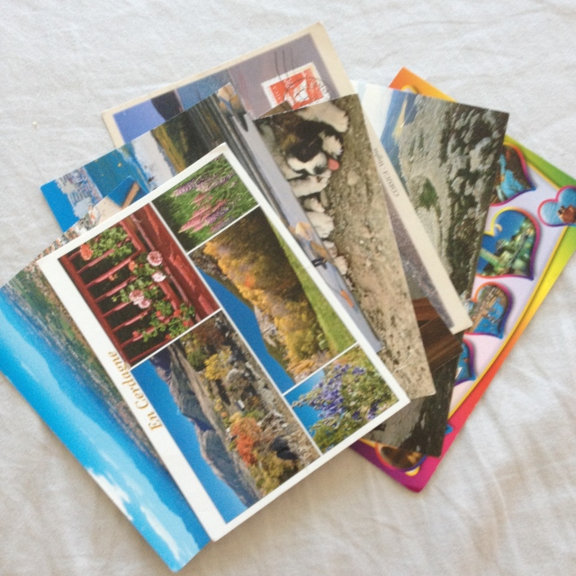 cartes postales été 2014
