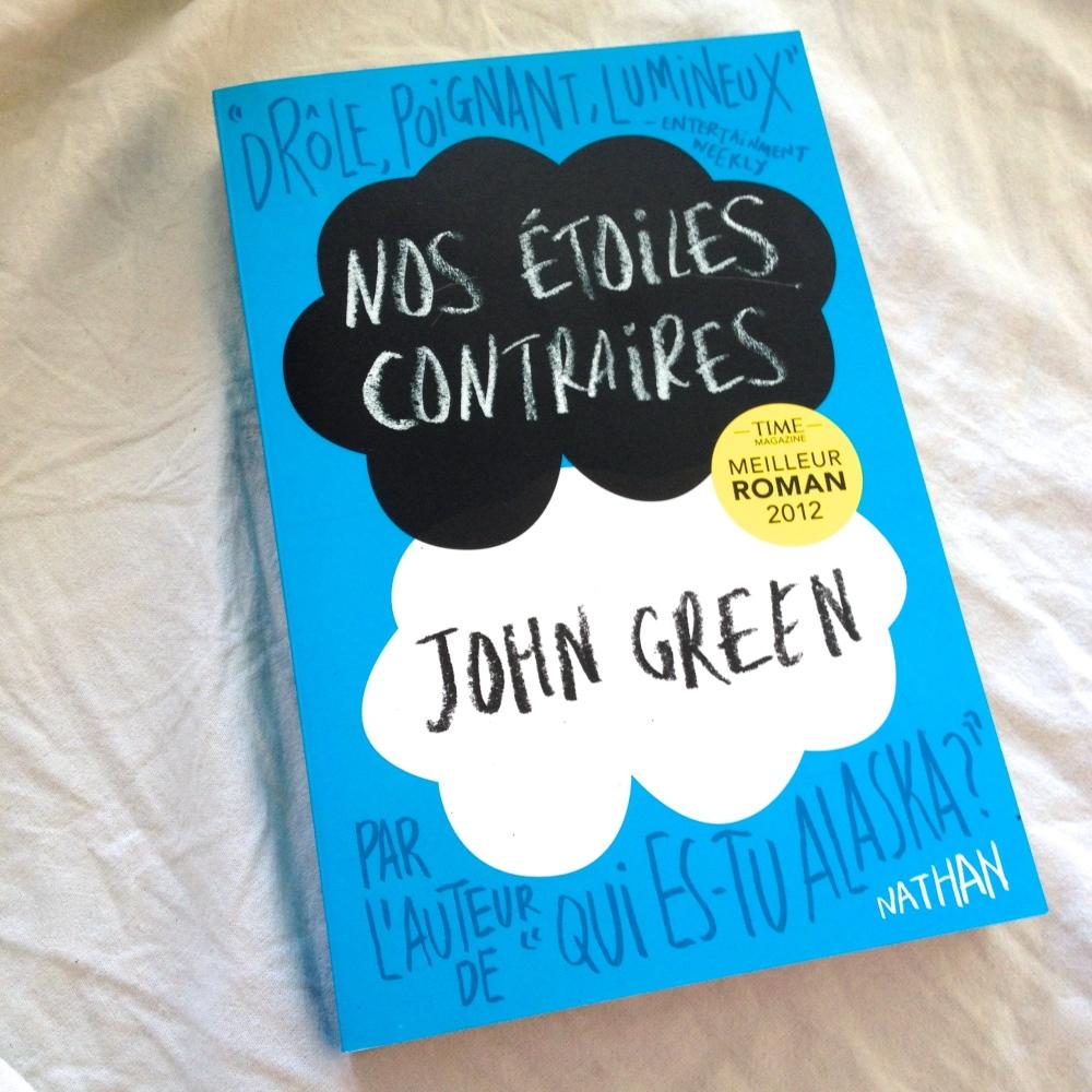 nos étoiles contraires John Green Livre