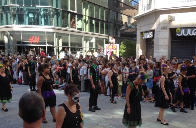 Defile biennale de la danse Lyon 2014 6