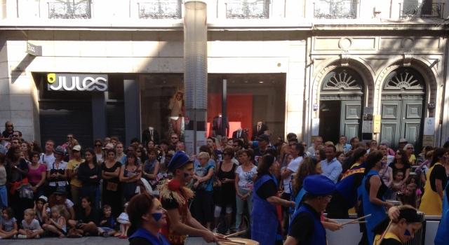 Defile biennale de la danse Lyon 2014