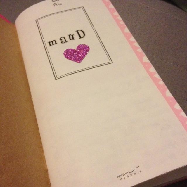 Mon carnet Midori