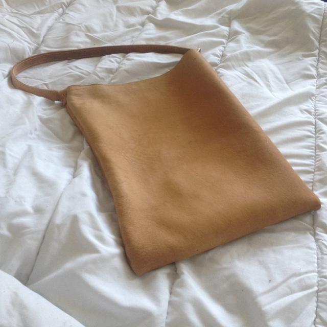 sac en cuir fait main