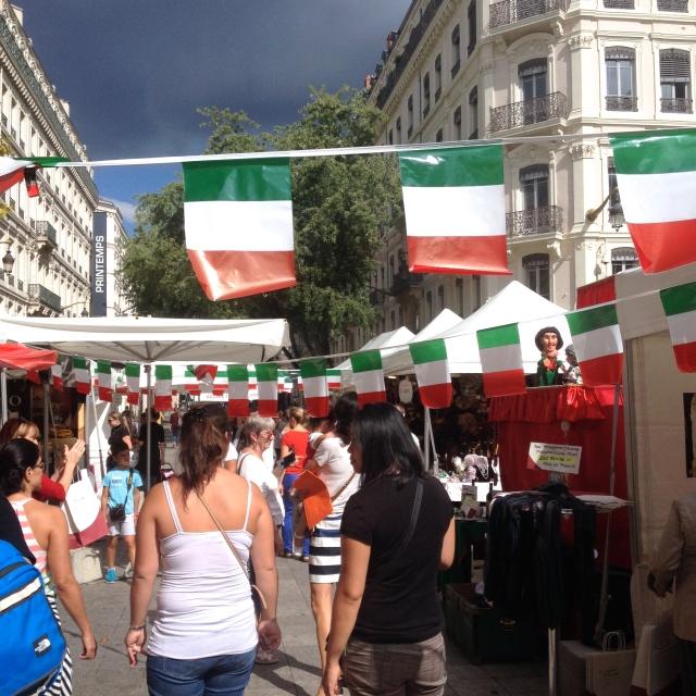 Semaine italienne à Lyon