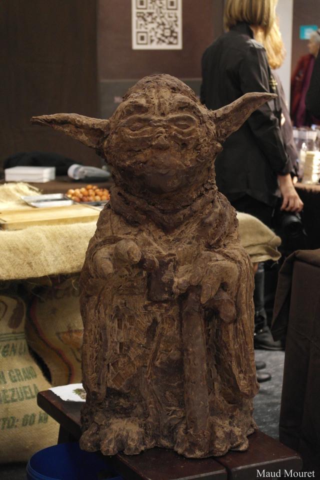 Yoda en chocolat