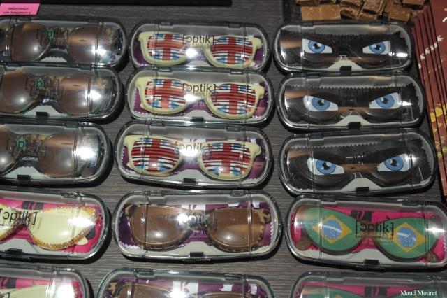 lunettes en chocolat de chez Bouillet