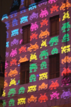 Space invaders Lyon Saint Paul