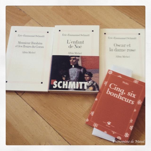 livres Eric Emmanuel Schmitt