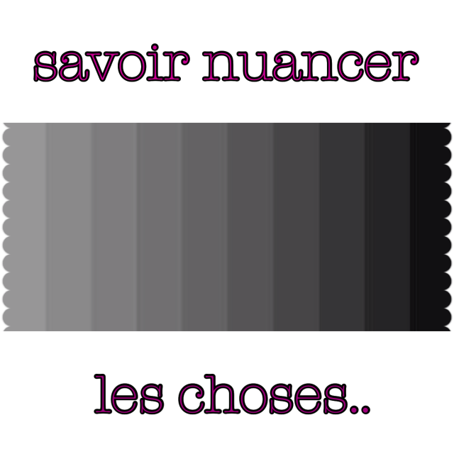 nuances de gris