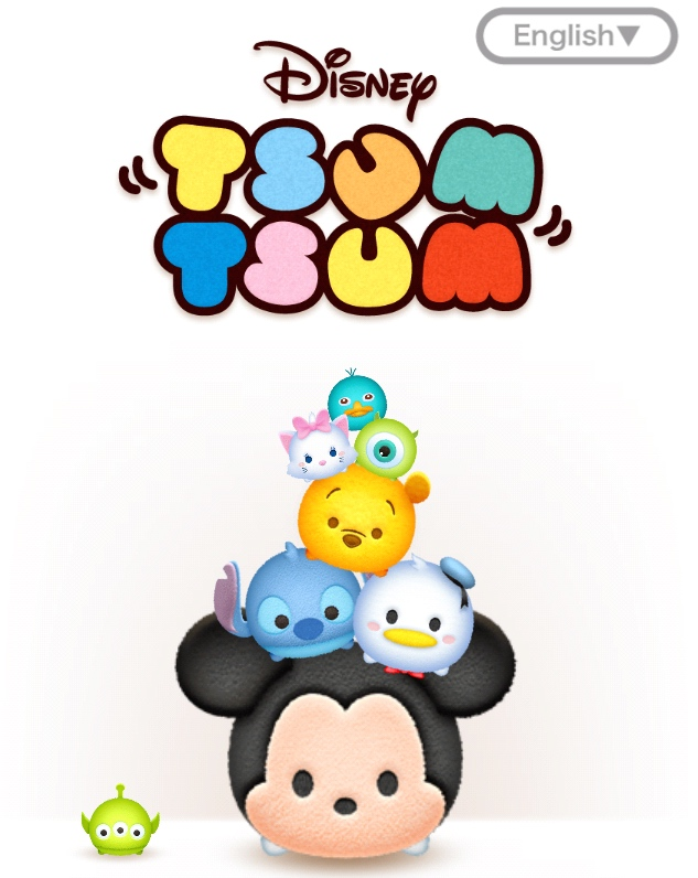 Tsum Tsum Disney application pour smartphone