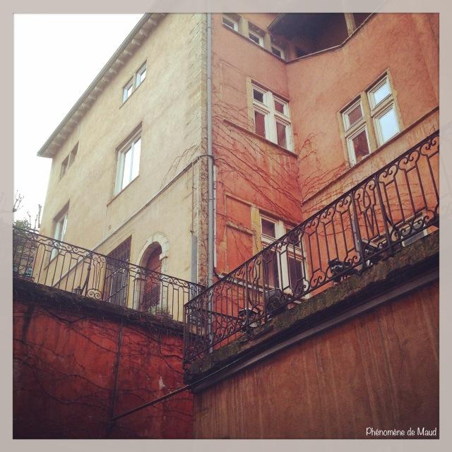 bâtisses du vieux Lyon