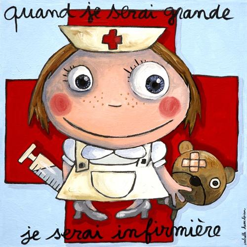 infirmière par Isabelle Kessedjian