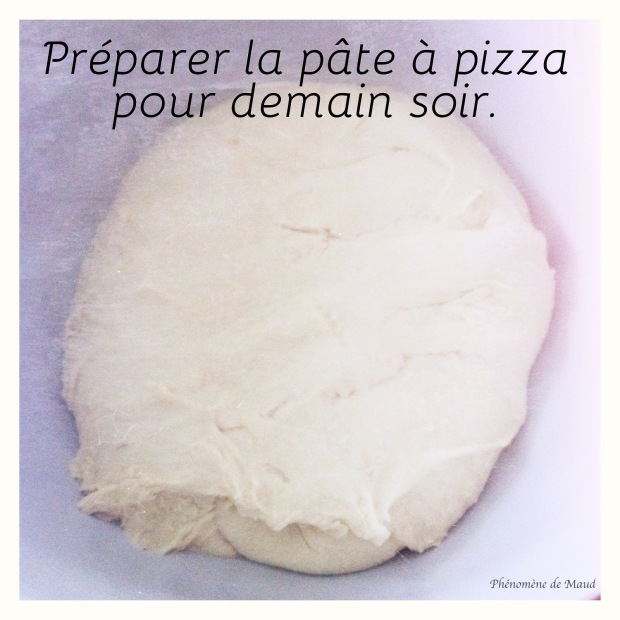 pâte à pizza