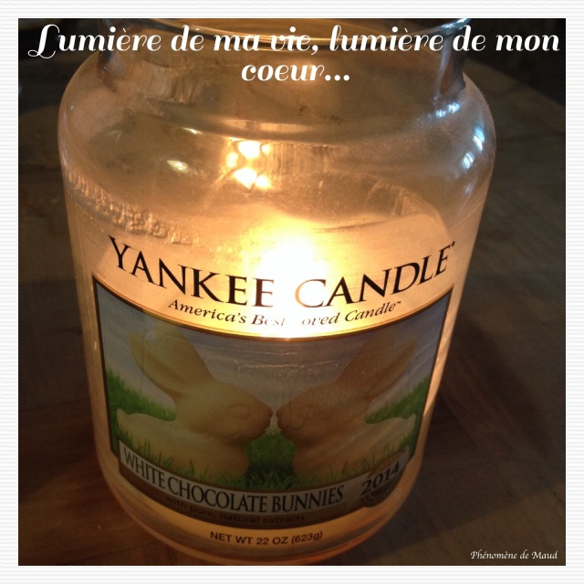bougie Yankee candle pâques 2014