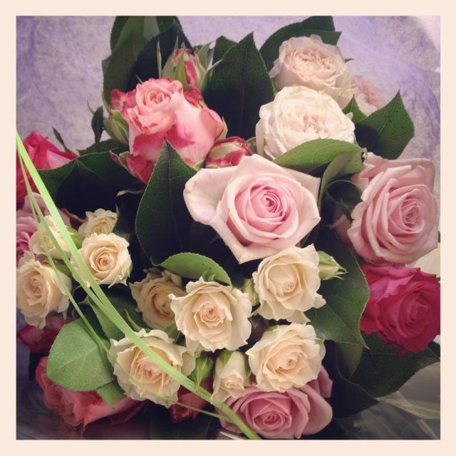 bouquet de roses interflora
