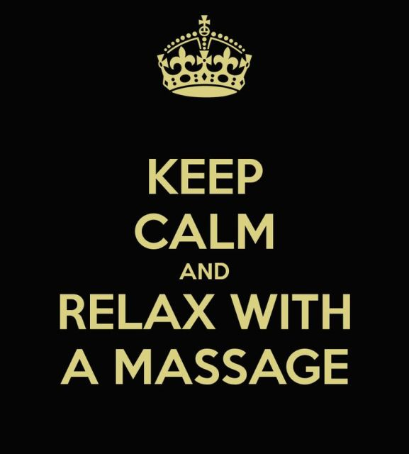 keep calm massage