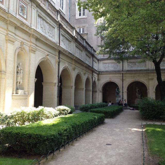 jardin musée des beaux arts lyon