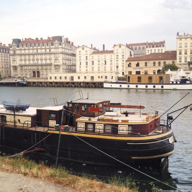 péniche Lyon