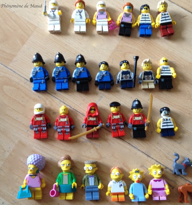 personnages lego