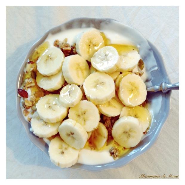 petit dejeuner cereales banane