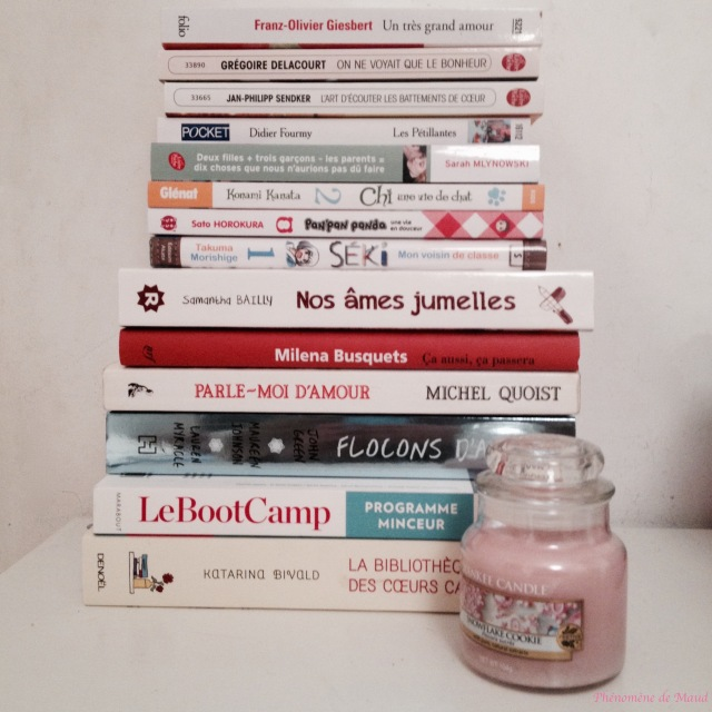 book haul septembre 2015