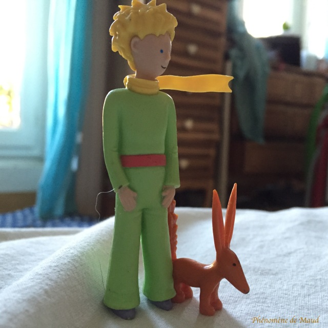 figurine petit prince et renard