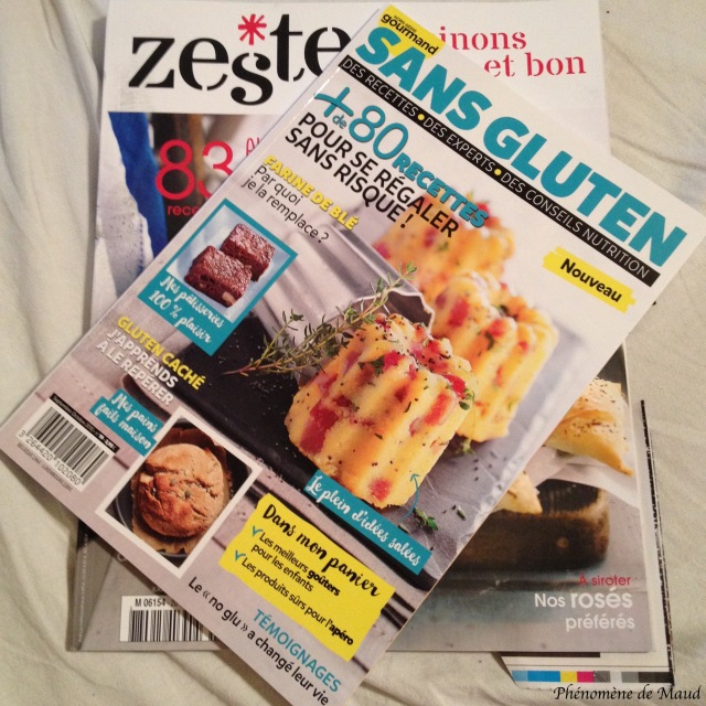 magazines culinaires