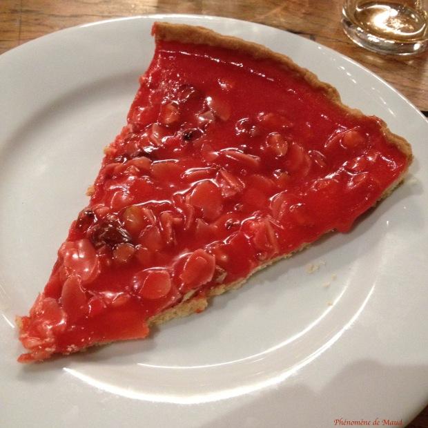 tarte aux pralines