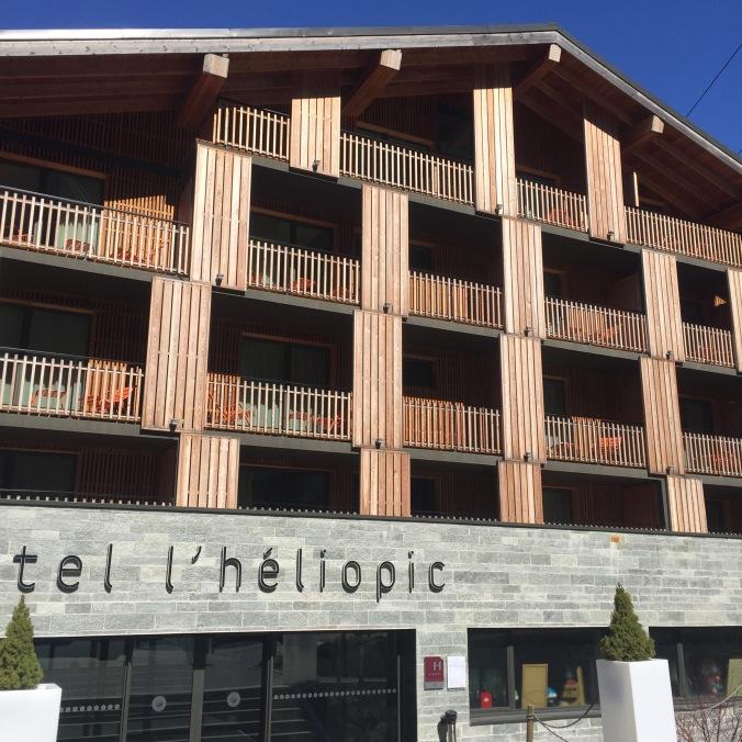 hotel l heliopic chamonix