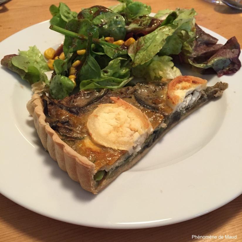 tarte legumes formage de chevre