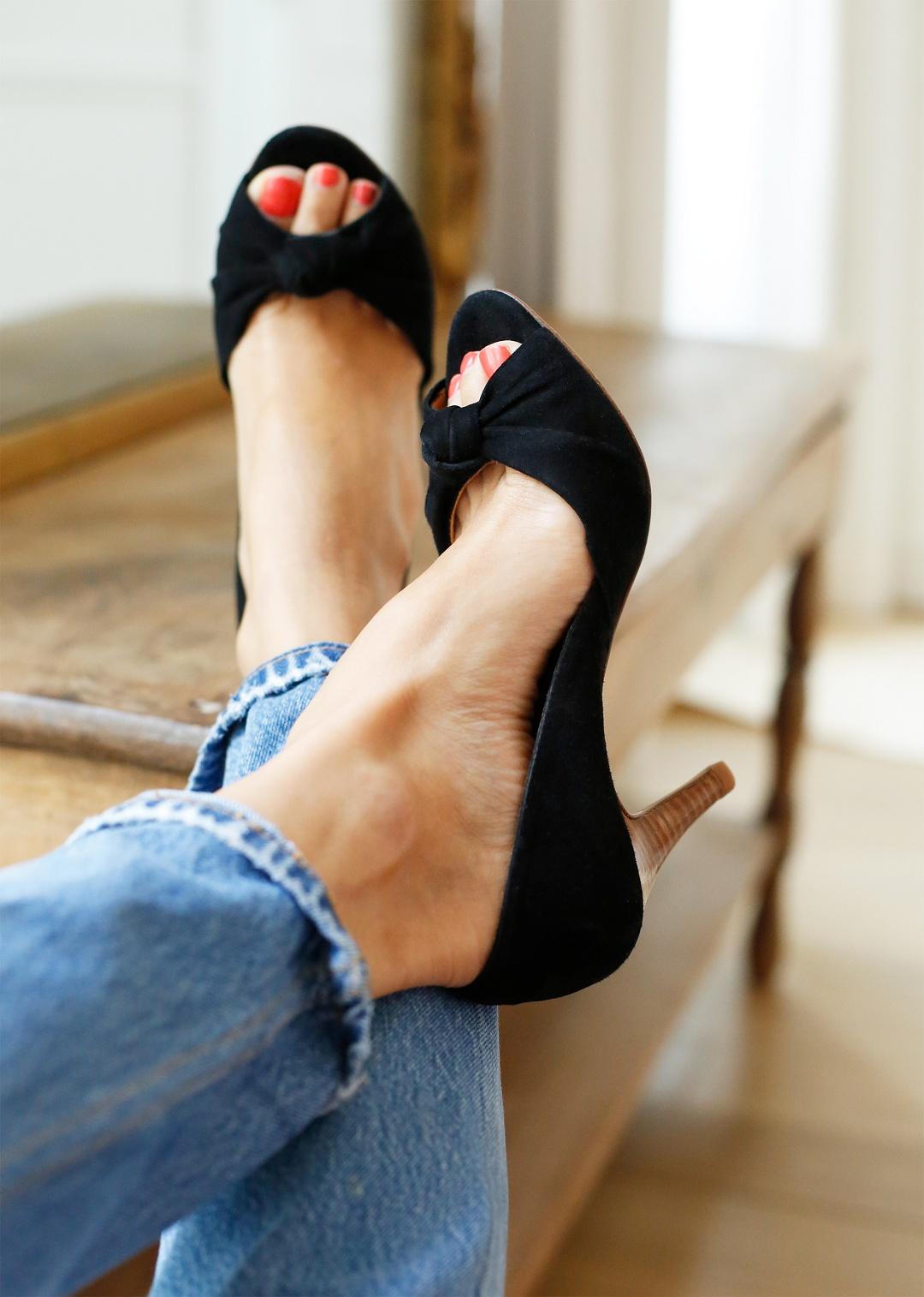 designer fashion elegant shoes 100% top quality chaussures escaprins high juliette sezane | Phénomène de Maud
