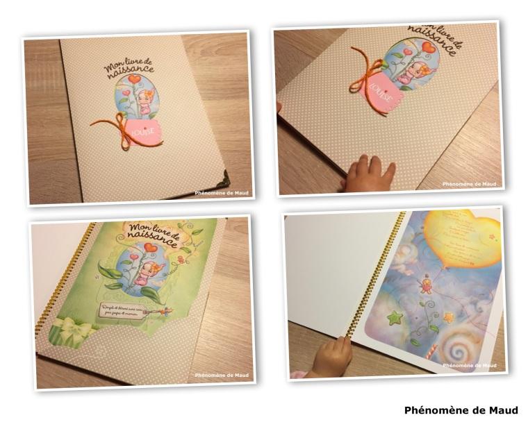 livre de naissance Louise