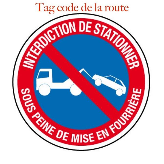tag code de la route