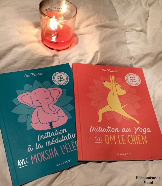 livres meditation et yoga pour enfants