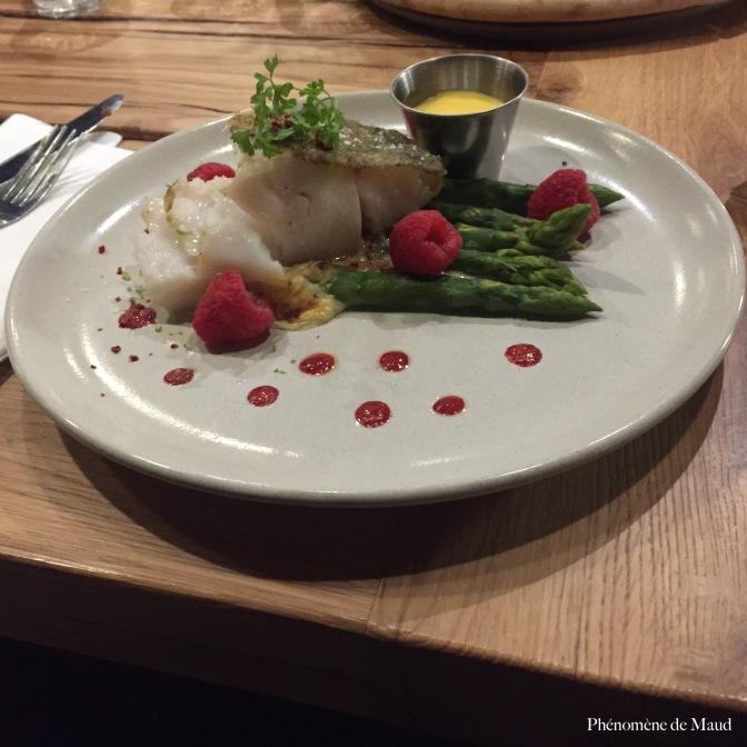 poisson et légumes rocky pop