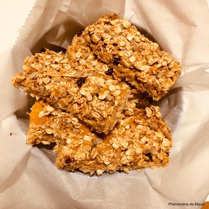 barres de cereales maison healthy