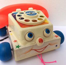 téléphone à tirer fisher price